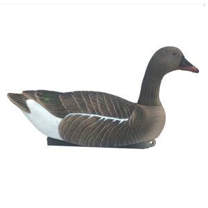 floating pinkfoot goose decoy