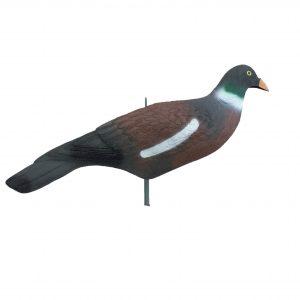 plastic pigeon shell
