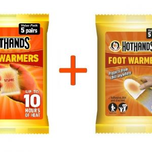 1 x HOTFEET5PACK 1 x HOTHANDS5PACK (COMBO VALUE PACKS)