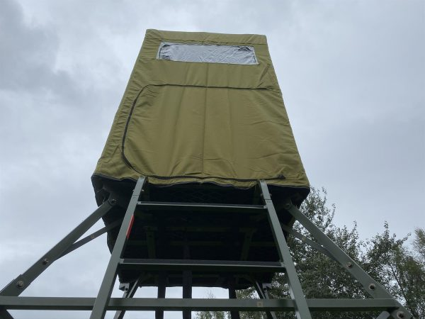 COVERED FREE STANDING HIGH SEAT