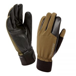 Rugged, subtle gun-cut gloves designed for hunting.Anatomic designPre-curved finger formClose fitting and lightweightDurable Ripstop outer shell fabricSupple sheepskin leather palmAll leather trigger fingerNon-woven finger facings reduce noise for trackingMicro fleece and Coolmax? lining for moisture controlMid length, adjustable stretch cuffsHow to work out your size for glovesTo ensure you purchase the perfect fit glove for you, please follow these simple steps:-Measure your dominant hand with a tape measure around the knuckles in inches (your left if you are left handed and your right if you are right handed)The size that you measure in inches, is your glove size, so if you measure 9 inches, you will need a medium glovePlease remember that if the gloves are too tight on your hands they may make your hands feel cold, so if in doubt go up a size!Adult GlovesX-SmallSmallMediumLargeX-LargeXX-LargeMens / Unisex5-67-89101112Ladies Fit56789-