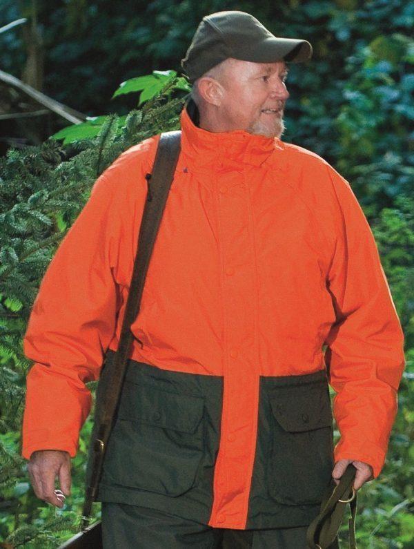 Deerhunter Waterproof Game Tracker Jacket Orange