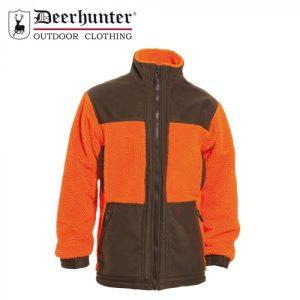 Deerhunter Retrieve Fibre Pile Jacket Orange