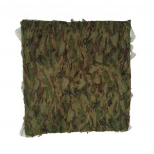 "Aptly named ""Stealth Ghost Camo"", this 2-ply camouflage stealth net is an unbelievable advance in concealment technology for hunters relying on total invisibility from their quarry.The net is 1.5m tall. Please choose the length from the drop down menu.Lightweight, approx 1.8lbs.Woodland camo.Will not snag your gun barrelsWon't tangle, even if screwed up.Compacts into 1 square foot.Without a doubt the best feature of the net is the pattern and texture. The exterior layer is printed in special British foliage disruptive camo pattern and then dies cut to produce a 3-Dimensional moving leaf effect. The backing layer is green micromesh which not only adds depth and shadowing to the texture but also makes the net very easy to see through from the inside."
