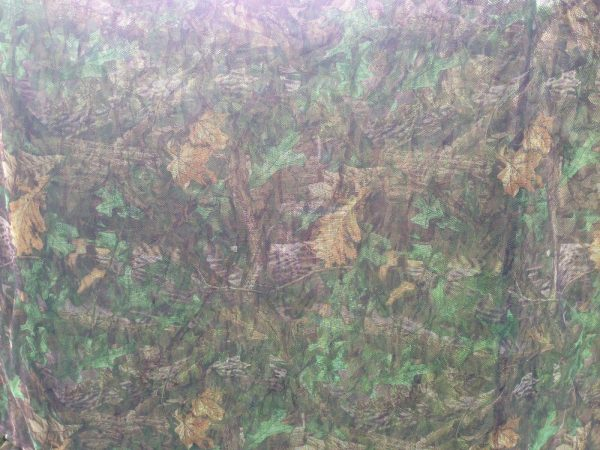 4M LOOPS ENGLISH HEDGEROW CAMO LIGHTWEIGHT NET WITH NEW TIE