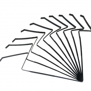 EEZZY WOBBLERS x 10STRONG METAL WOBBLERS TO PROVIDE VITAL MOVEMENT TO YOUR PIGEON PATTERNALTER THE POSITION ON THE WOBBLER TO VARY THE AMOUNT YOUR DECOY MOVES IN THE WINDCOATED GRIP AREA TO AVOID COLD HANDS AND AID COMFORTDecoys shows for display purposes only - Wobblers only inthislisting