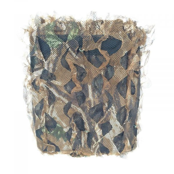 WINTER CAMO NET 5m x 1.5m STEALTH NETTING PIGEON HIDE STALKING BLIND
