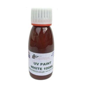 UV PAINT WHITE 100ML FOR DECOYS