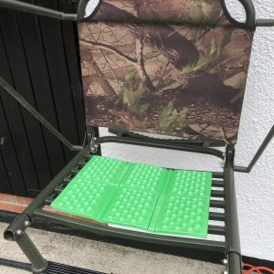 Green Padded Seat