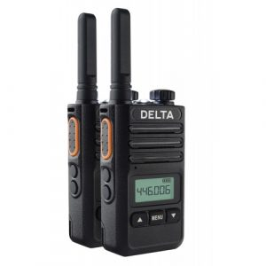 Pama Delta PMR Radio - Twin Pack With Desktop Chargers