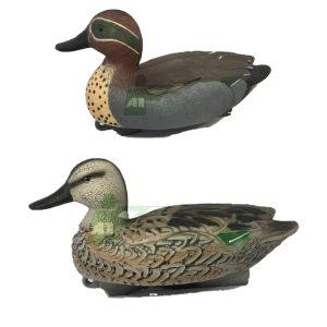Teal Duck Decoys