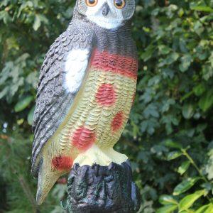 OWL DECOY FULL BODIED 51CM SINGLE