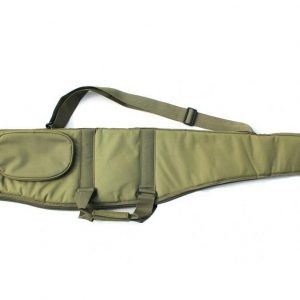 PADDED RIFLE WITH SCOPE SLIP GREEN