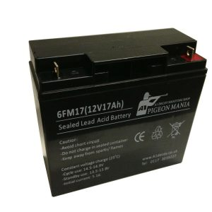 Rechargeable Battery 12v 7AH with Charger and Battery Bag