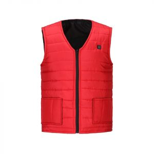 Heated Vest Black 5XL