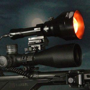 Wicked Light A75IC 260RIPS edition gun light and IR illuminator