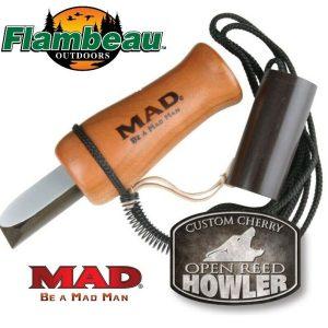 Flambeau MAD Custom Cherry Open Reed Howler