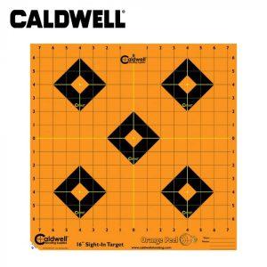 Caldwell Orange Peel Sight-In Target 16 Inch 12 Sheets
